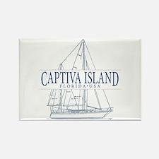 Captiva Island - Rectangle Magnet
