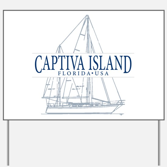 Captiva Island - Yard Sign