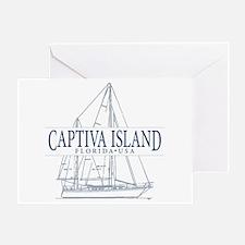 Captiva Island - Greeting Card