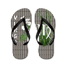 Bamboo and Lily Virgo Flip Flops
