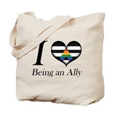 I Heart Being an Ally Tote Bag