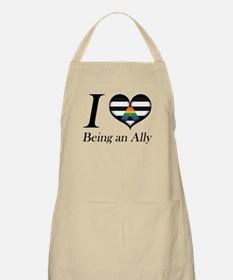 I Heart Being an Ally Apron
