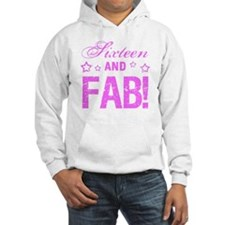Fabulous 16th Birthday Hoodie