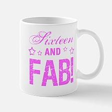Fabulous 16th Birthday Mug