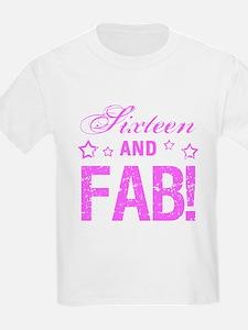 Fabulous 16th Birthday T-Shirt