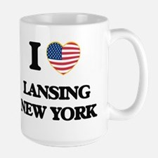I love Lansing New York Mugs
