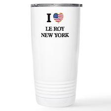 I love Le Roy New York Travel Mug