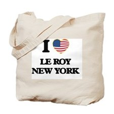 I love Le Roy New York Tote Bag