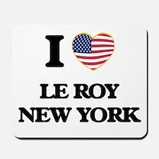 I love Le Roy New York Mousepad