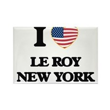 I love Le Roy New York Magnets