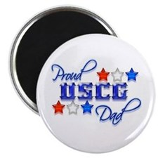 "USCG Dad 2.25"" Magnet (100 pack)"