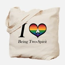 I Heart Being Two-Spirit Tote Bag