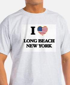 I love Long Beach New York T-Shirt