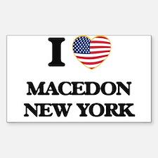 I love Macedon New York Decal