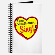 You Make My Heart Sing Journal