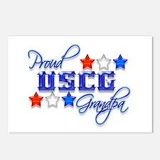 USCG Grandpa Postcards (Package of 8)
