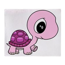 Baby Turtle Throw Blanket