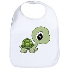 Green Baby Turtle Bib