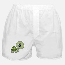 Green Baby Turtle Boxer Shorts