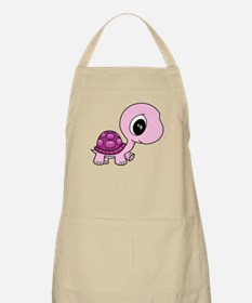 Pink Baby Turtle Apron