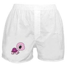 Pink Baby Turtle Boxer Shorts