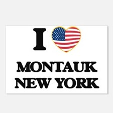 I love Montauk New York Postcards (Package of 8)