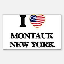 I love Montauk New York Decal