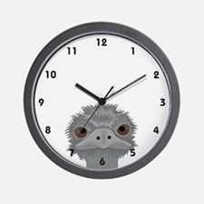 Emu Wall Clock