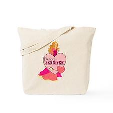 Princess Jennifer Tote Bag