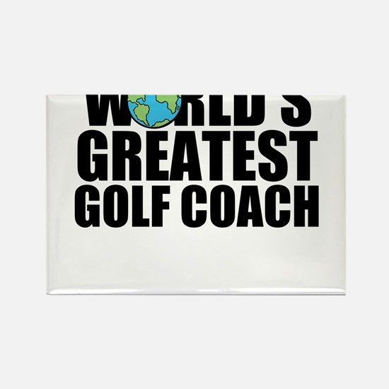 World's Greatest Golf Coach Magnets