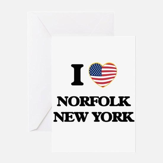 I love Norfolk New York Greeting Cards
