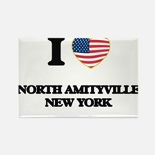 I love North Amityville New York Magnets