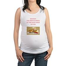 hockey Maternity Tank Top