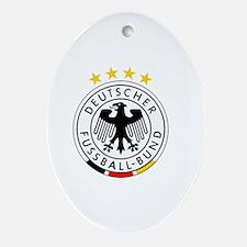 Cute German Oval Ornament