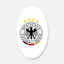Unique German Oval Car Magnet