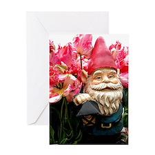 Cute Pink tulip Greeting Card