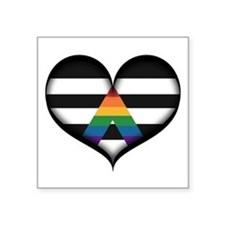 LGBT Ally Heart Sticker