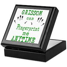 GRISSOM FINGERPRINTS Keepsake Box