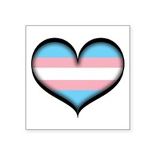 Transgender Heart Sticker