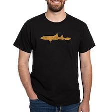 Distressed Brown Leopard Shark T-Shirt