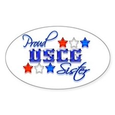USCG Sister Oval Decal