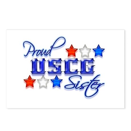 USCG Sister Postcards (Package of 8)