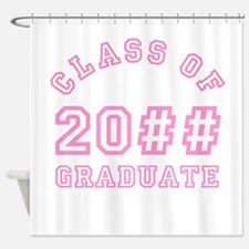PERSONALIZED Grad Year Shower Curtain