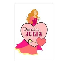 Princess Julia Postcards (Package of 8)
