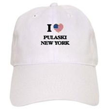 I love Pulaski New York Baseball Cap