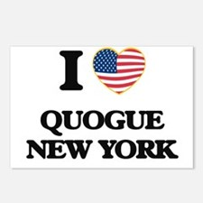 I love Quogue New York Postcards (Package of 8)