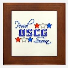 USCG Son Framed Tile