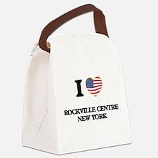 I love Rockville Centre New York Canvas Lunch Bag