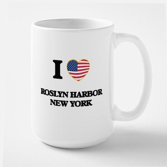 I love Roslyn Harbor New York Mugs