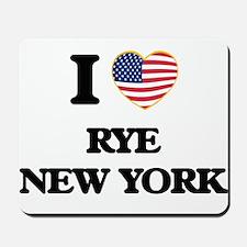 I love Rye New York Mousepad